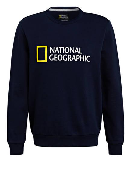 NATIONAL GEOGRAPHIC Sweatshirt, Farbe: DUNKELBLAU (Bild 1)