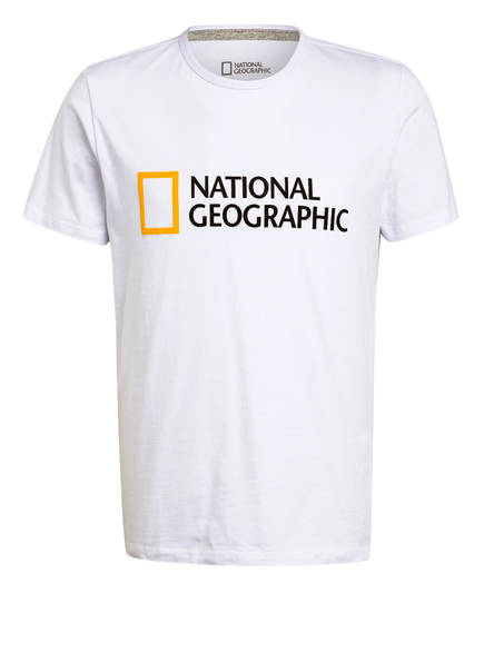 NATIONAL GEOGRAPHIC T-Shirt, Farbe: WEISS (Bild 1)