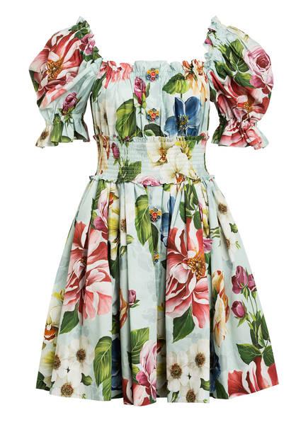 DOLCE&GABBANA Kleid , Farbe: HELLBLAU/ GRÜN/ ROT (Bild 1)