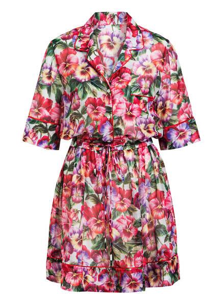 DOLCE&GABBANA Kleid, Farbe: PINK/ LILA/ GRÜN (Bild 1)