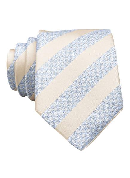 Roy Robson Krawatte, Farbe: ECRU/ HELLBLAU (Bild 1)