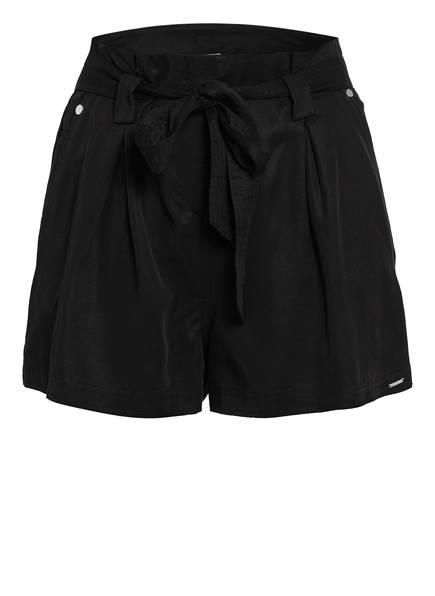 Superdry Paperbag-Shorts DESERT, Farbe: SCHWARZ (Bild 1)