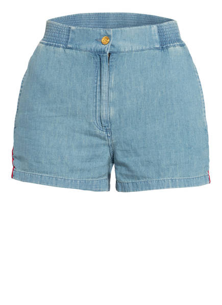 GUCCI Jeans-Shorts mit Leinen, Farbe: HELLBLAU (Bild 1)