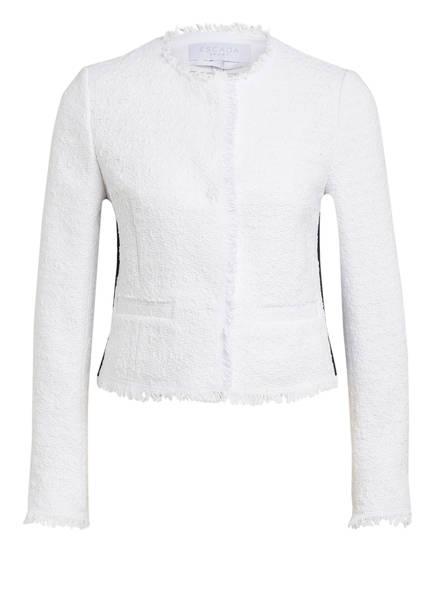 ESCADA SPORT Tweed-Blazer BYLLA, Farbe: WEISS (Bild 1)