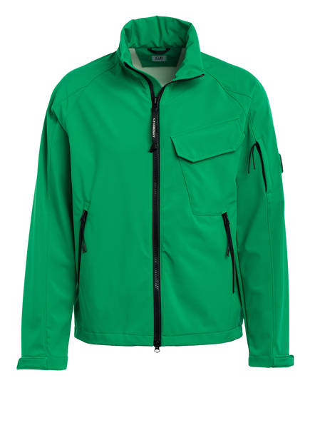 C.P. COMPANY Softshell-Jacke , Farbe: GRÜN (Bild 1)