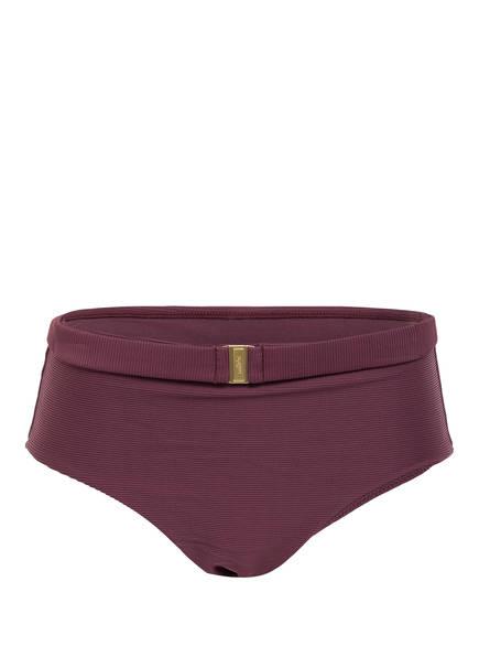 miléa Bikini-Hose MINI RIB, Farbe: BORDEAUX (Bild 1)