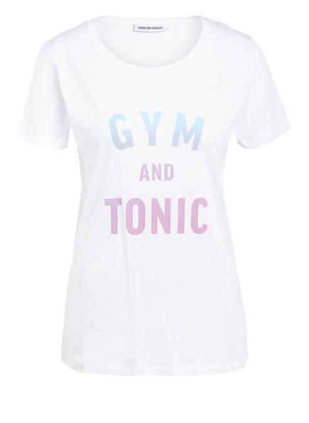 QUANTUM COURAGE T-Shirt GYM & TONIC, Farbe: WEISS (Bild 1)