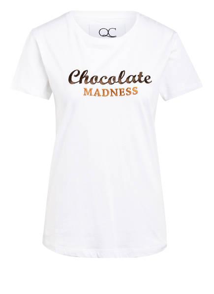 QUANTUM COURAGE T-Shirt CHOCOLATE MADNESS, Farbe: WEISS (Bild 1)