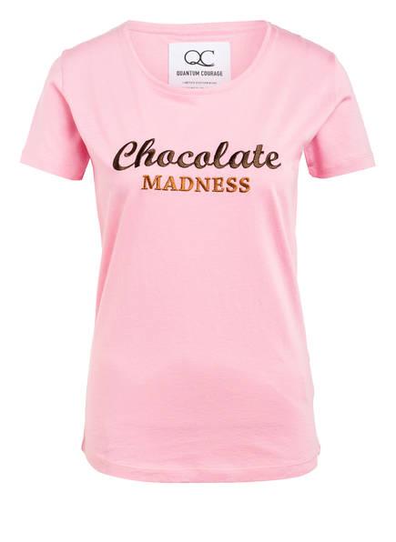 QUANTUM COURAGE T-Shirt CHOCOLATE MADNESS, Farbe: ROSA (Bild 1)