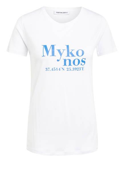 QUANTUM COURAGE T-Shirt MYKONOS, Farbe: WEISS (Bild 1)