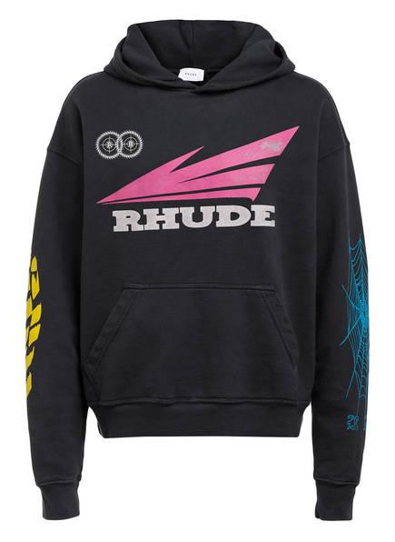 RHUDE Hoodie RHONDA 2, Farbe: SCHWARZ (Bild 1)