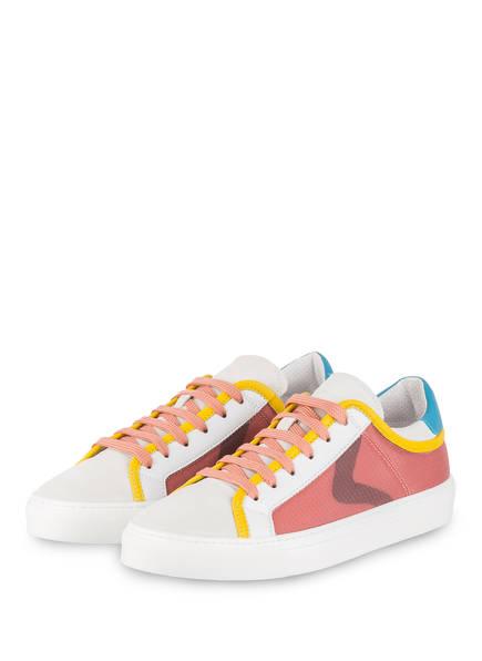 VOILE BLANCHE Sneaker ERIKA, Farbe: CREME/ WEISS/ ALTROSA (Bild 1)