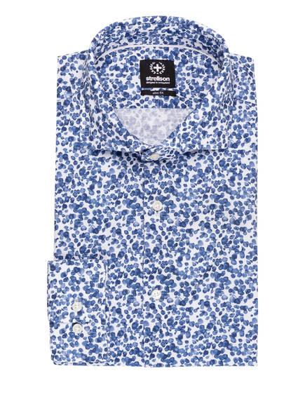 strellson Hemd SERENO Slim Fit, Farbe: BLAU/ WEISS (Bild 1)