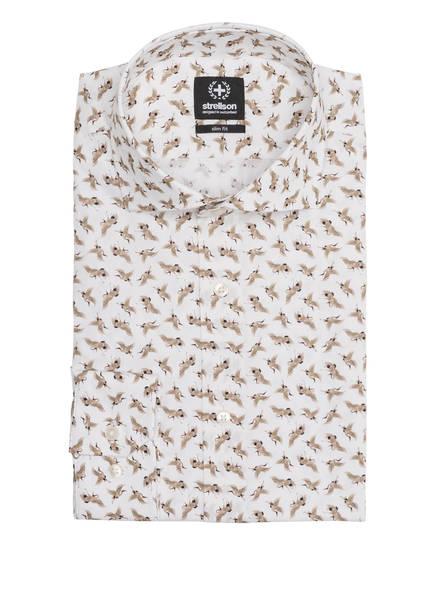 strellson Hemd SERENO Slim Fit , Farbe: WEISS/ BEIGE (Bild 1)