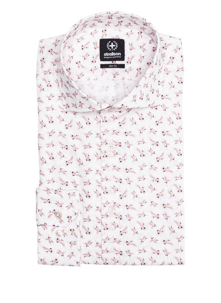 strellson Hemd SERENO Slim Fit , Farbe: WEISS/ ROSA (Bild 1)