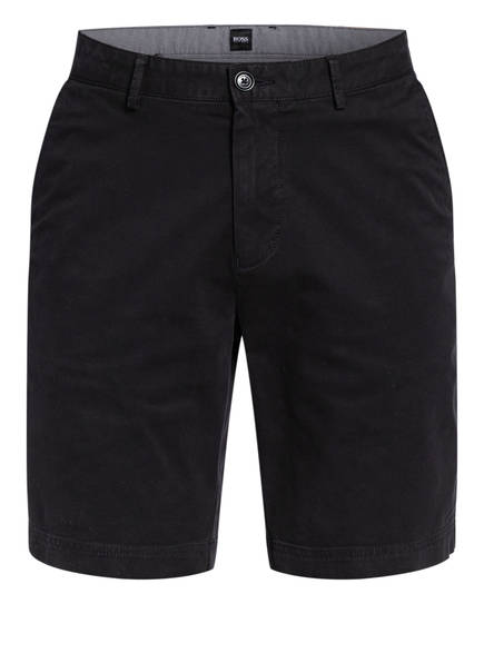 BOSS Chino-Shorts SLICE Slim Fit, Farbe: SCHWARZ (Bild 1)