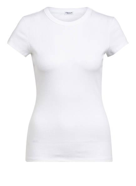 Filippa K T-Shirt FINE RIP TEE, Farbe: WEISS (Bild 1)