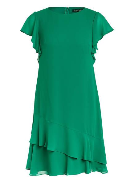 LAUREN RALPH LAUREN Kleid CYRENA mit Volantbesatz , Farbe: GRÜN (Bild 1)