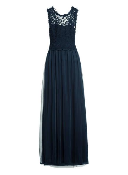 VILA Kleid mit Spitzenbesatz, Farbe: DUNKELBLAU (Bild 1)