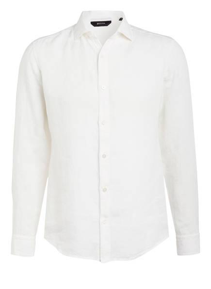 ZZegna Leinenhemd Regular Fit , Farbe: WEISS (Bild 1)