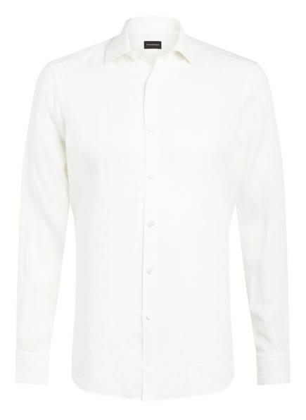 Ermenegildo Zegna Leinenhemd Slim Fit, Farbe: WEISS (Bild 1)