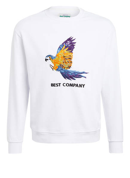 Best Company Sweatshirt, Farbe: WEISS (Bild 1)