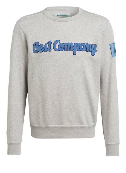 Best Company Sweatshirt, Farbe: GRAU MELIERT (Bild 1)