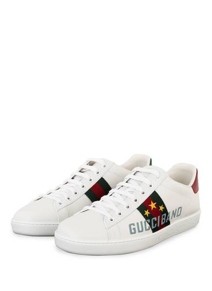 GUCCI Sneaker ACE, Farbe: WEISS (Bild 1)