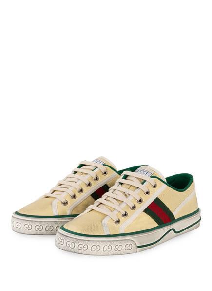 GUCCI Sneaker TENNIS 1977, Farbe: BURRO/ MYSTIC WHITE (Bild 1)