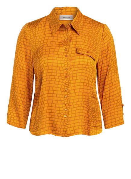 GESTUZ Hemdbluse TABBY mit 3/4-Arm, Farbe: DUNKELORANGE (Bild 1)