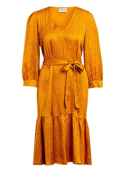 GESTUZ Kleid TABBY mit 3/4-Arm, Farbe: DUNKELORANGE (Bild 1)