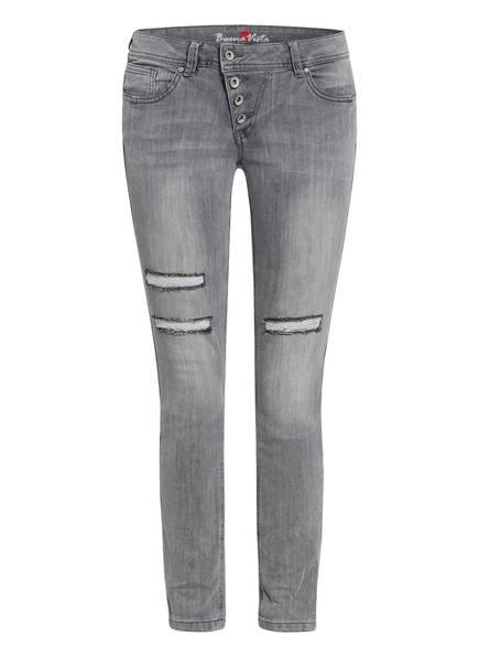 Buena Vista Skinny Jeans MALIBU, Farbe: GREY (Bild 1)