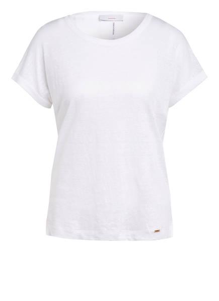 CINQUE T-Shirt aus Leinen, Farbe: WEISS (Bild 1)