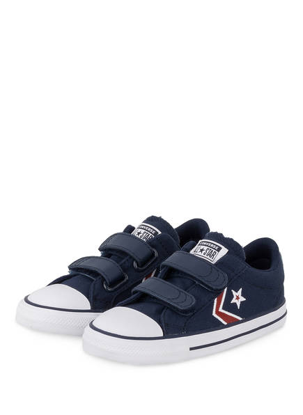 CONVERSE Sneaker, Farbe: DUNKELBLAU/ ROT (Bild 1)