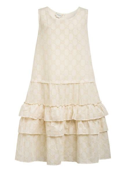 GUCCI Kleid mit Volants , Farbe: ECRU (Bild 1)