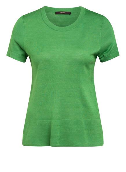 windsor. Strickshirt aus Seide , Farbe: GRÜN (Bild 1)