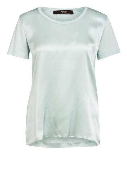 windsor. Blusenshirt aus Seide im Materialmix , Farbe: MINT (Bild 1)