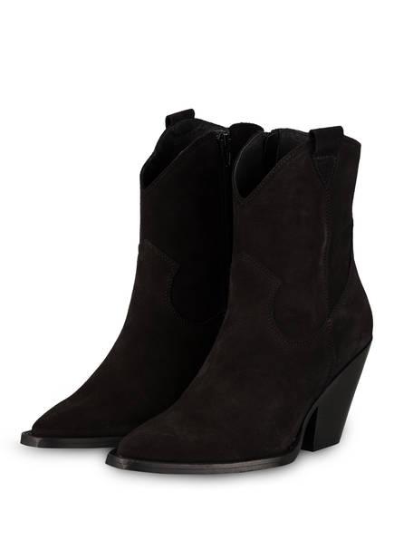 Mrs & HUGS Cowboy Boots, Farbe: SCHWARZ (Bild 1)