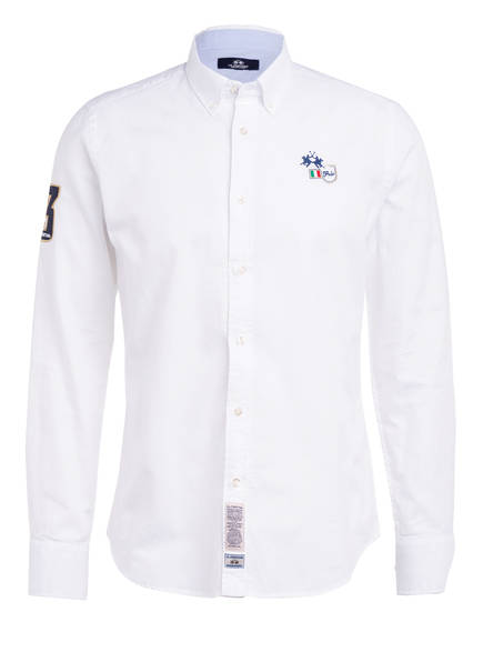 LA MARTINA Hemd Extra Slim Fit, Farbe: WEISS (Bild 1)