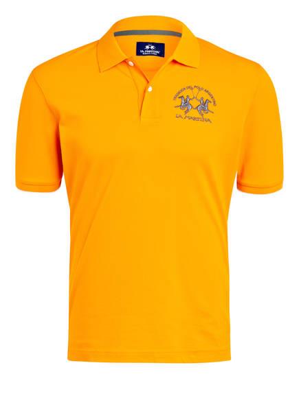 LA MARTINA Piqué-Poloshirt Regular Fit, Farbe: ORANGE (Bild 1)
