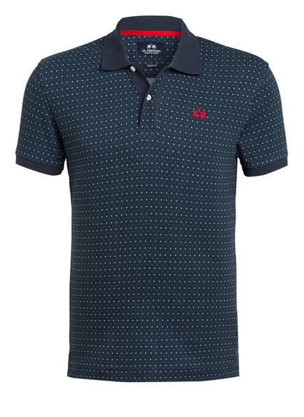 LA MARTINA Piqué-Poloshirt Slim Fit, Farbe: DUNKELBLAU (Bild 1)