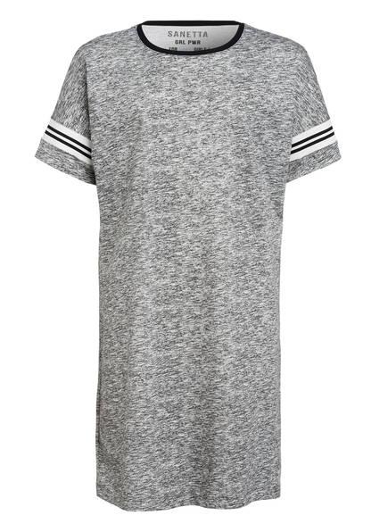Sanetta Nachthemd , Farbe: GRAU MELIERT (Bild 1)