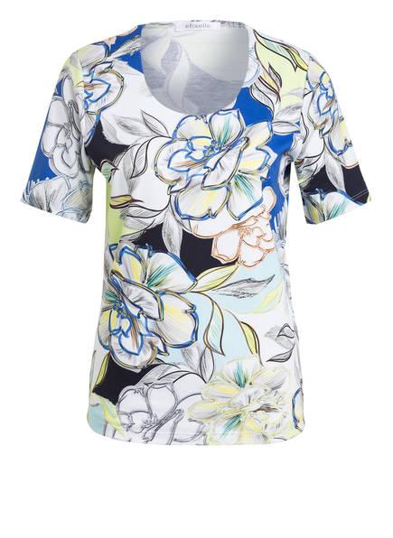 efixelle T-Shirt, Farbe: WEISS/ BLAU/ GELB (Bild 1)