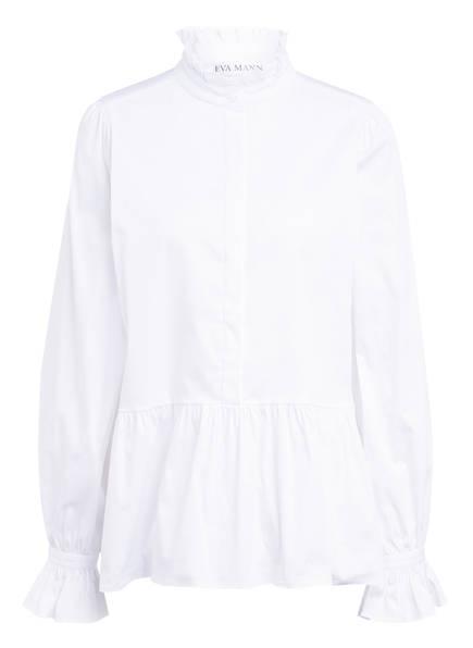 EVA MANN Bluse OTTILIE, Farbe: WEISS (Bild 1)