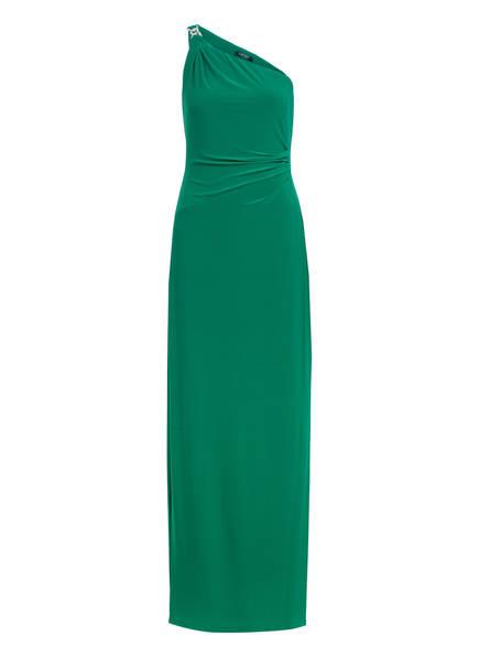 LAUREN RALPH LAUREN One-Shoulder-Kleid, Farbe: GRÜN (Bild 1)