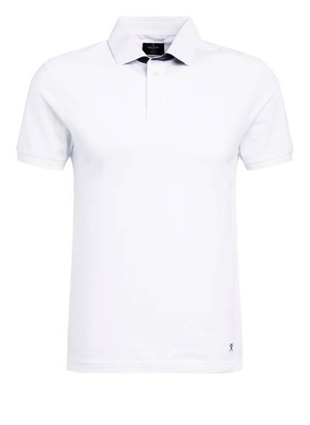 HACKETT LONDON Piqué-Poloshirt RIVIERA Slim Fit, Farbe: WEISS (Bild 1)