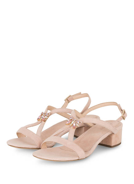 VIAMERCANTI Sandaletten BRIGITTE, Farbe: ROSA (Bild 1)