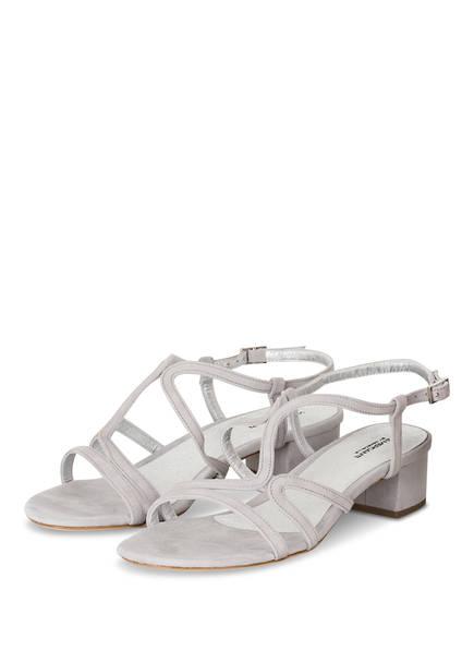 VIAMERCANTI Sandaletten BRIGITTE, Farbe: HELLGRAU (Bild 1)