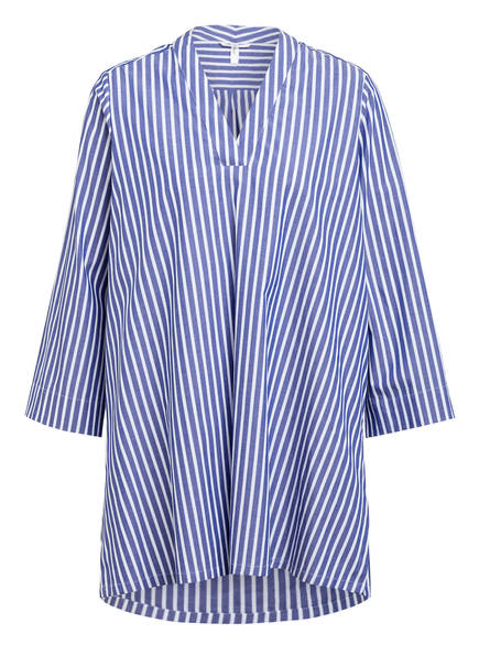 Sophie Oversized-Blusenshirt MIERRA, Farbe: BLAU/ WEISS GESTREIFT (Bild 1)