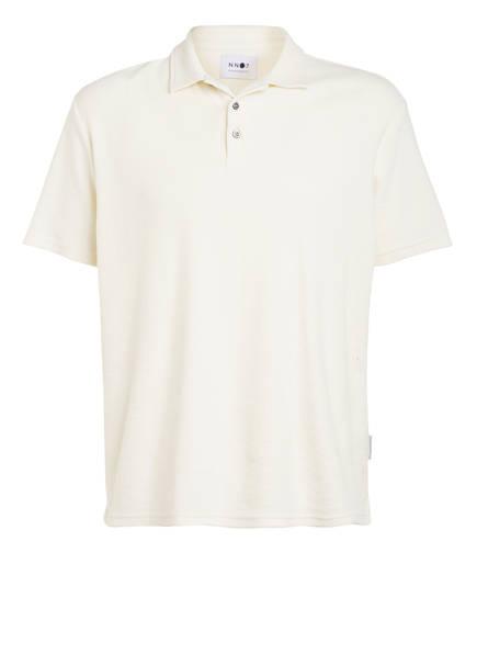 NN07 Frottee-Poloshirt ALFONS Regular Fit, Farbe: ECRU (Bild 1)